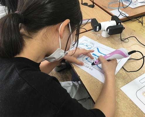3D펜 체험 고등학생