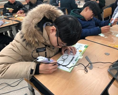 3D펜 전문가 고등학생 체험