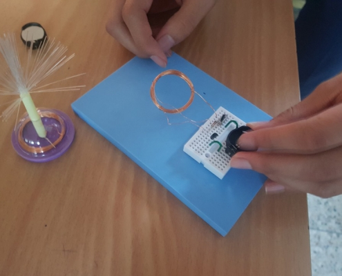 고등학생 전자기력 실험