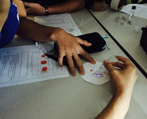 CSI과학수사대 고등학생 체험