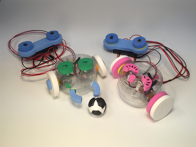유선축구로봇 체험